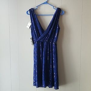Express Sequined Party Dress Size S